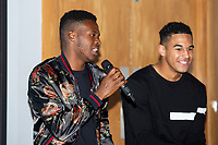 Pictured: Jordon Garrick of Swansea City during the Swansea City Academy presentation night at the liberty stadium, Swansea, Wales, UK. Thursday 24th October 2019