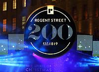 BOV 14 Regent Street Christmas lights - Switch On Event