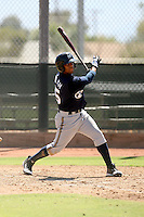 Khris Davis - Milwaukee Brewers - 2010 Instructional League.Photo by:  Bill Mitchell/Four Seam Images..