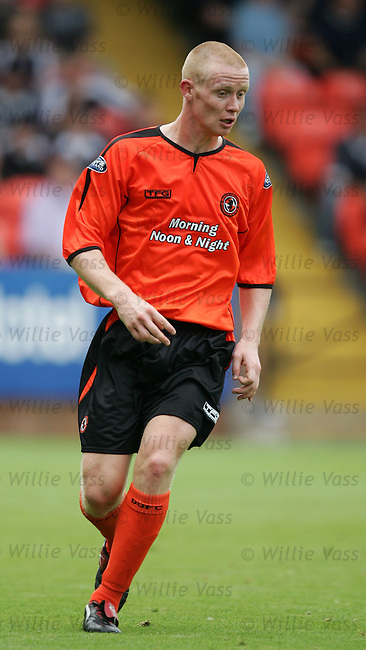 Barry Robson, Dundee Utd.stock season 2004-2005.pic willie vass