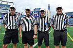 FOXBORO, MA - MAY 28: A general view of NCAA referees during the Division II Men's Lacrosse Championship held at Gillette Stadium on May 28, 2017 in Foxboro, Massachusetts. (Photo by Larry French/NCAA Photos via Getty Images)