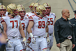 Boston College Eagles tight end Tommy Sweeney (89) in action during the Servpro First Responder Bowl game between Boise State Broncos and Boston College Eagles at the Cotton Bowl Stadium in Dallas, Texas.