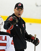 Former Providence Friar Kurt Kleinendorst takes part in the second session on Saturday, September 15, 2007 of the New Jersey Devils training camp on Rink 2 of the Richard E. Codey Arena at South Mountain in West Orange, New Jersey...