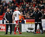 Conor Sammon of Sheffield Utd is substituted - English League One - Sheffield Utd vs Coventry City - Bramall Lane Stadium - Sheffield - England - 13th December 2015 - Pic Simon Bellis/Sportimage-