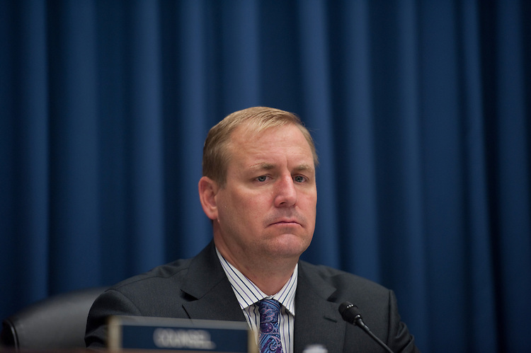 "UNITED STATES - JULY 14: Chairman Jeff Denham (R-CA), during the Hearing of the Subcommittee on Economic Development, Public Buildings and Emergency Management ""FEMA Reauthorization and Cutting the Red Tape in Recovery"",  Rayburn House Office Building. (Photo By Douglas Graham/Roll Call)"