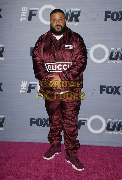 08 February 2018 - West Hollywood, California - DJ Khaled. FOX's The Four: Battle For Stardom season finale viewing party held at Delilah. <br /> CAP/ADM/FS<br /> &copy;FS/ADM/Capital Pictures