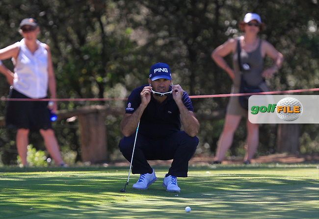 Gregory Havret (FRA) on the 17th fairway during Round 4 of the Open de Espana  in Club de Golf el Prat, Barcelona on Sunday 17th May 2015.<br /> Picture:  Thos Caffrey / www.golffile.ie