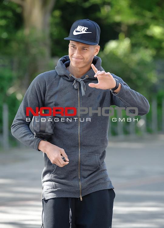 06.05.2015, Trainingsgelaende, Bremen, GER, 1.FBL, Training Werder Bremen, im Bild Davie Selke (Bremen #27)<br /> <br /> Foto &copy; nordphoto / Frisch