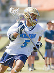 Corona Del Mar, CA 04/02/16 - Sachin Gokhale (Corona Del Mar #5) in action during the non-conference game between the Nike/LM High School Boys' National Western Region #4 Torrey Pines (#4) and #5 Corona Del Mar.  Torrey Pines defeated Corona Del Mar 9-8 in overtime.