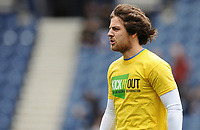 Preston North End's Ben Pearson during the pre-match warm-up <br /> <br /> Photographer Kevin Barnes/CameraSport<br /> <br /> The EFL Sky Bet Championship - Preston North End v Barnsley - Saturday 5th October 2019 - Deepdale Stadium - Preston<br /> <br /> World Copyright © 2019 CameraSport. All rights reserved. 43 Linden Ave. Countesthorpe. Leicester. England. LE8 5PG - Tel: +44 (0) 116 277 4147 - admin@camerasport.com - www.camerasport.com