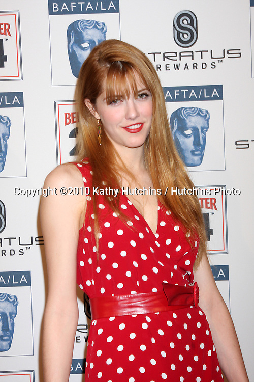 Yvonne Zima.arriving at the BAFTA/LA Awards Season Tea Party 2010.Beverly Hills Hotel.Beverly Hills, CA.January 16, 2010.©2010 Kathy Hutchins / Hutchins Photo....