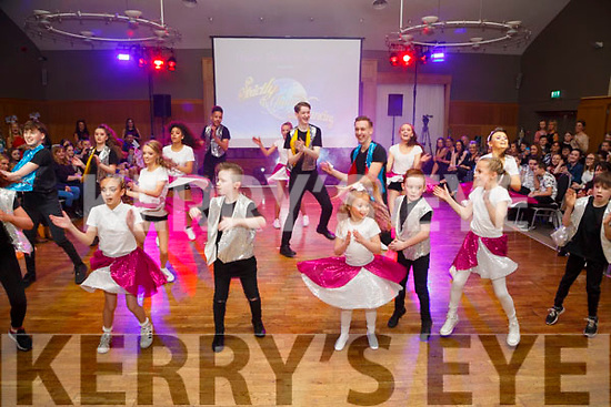 Young Dancers taken to the floor at the Tralee Musical Society Strictly Young Dancing in Ballyroe Heights Hotel,Tralee on Saturday night.