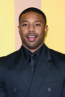 LONDON, ENGLAND - FEBRUARY 8: Michael B. Jordan arrives at the 'Black Panther' European premiere at the Eventim Apollo, on February 8th, 2018 in London, England. <br /> CAP/JC<br /> &copy;JC/Capital Pictures