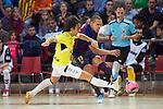 League LNFS 2018/2019 - Game 29.<br /> FC Barcelona Lassa vs Viña Albali Valdepeñas: 5-1.<br /> Manuel Garcia vs Ferrao.