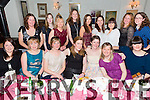 Aoife O Dowd, Dingle, (front centre) out with girlfriends at her Hen party in Cassidy's on Saturday, who will be marrying John O'Sullivan in April