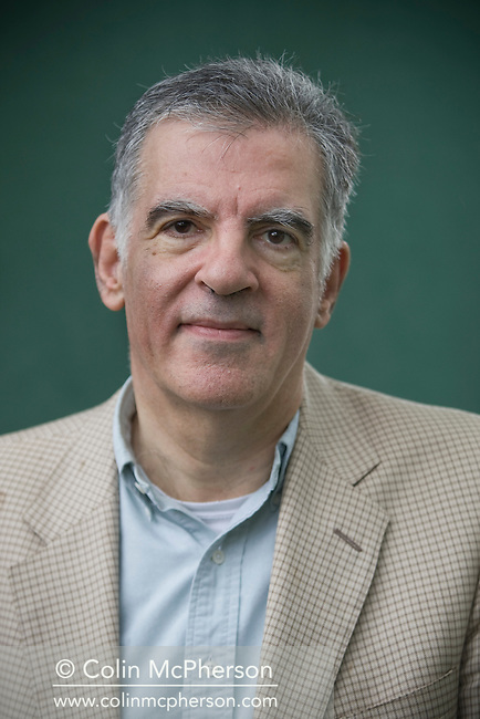 English author Michael Arditti, pictured at the Edinburgh International Book Festival where he talked about his latest book entitled 'Jubilate'. The three-week event is the world's biggest literary festival and is held during the annual Edinburgh Festival. The 2011 event featured talks and presentations by more than 500 authors from around the world..