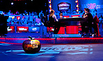 A poker pumpkin makes it onto the stage near the final table