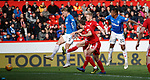 03.03.2019 Aberdeen v Rangers: Joe Worrall scores for Rangers