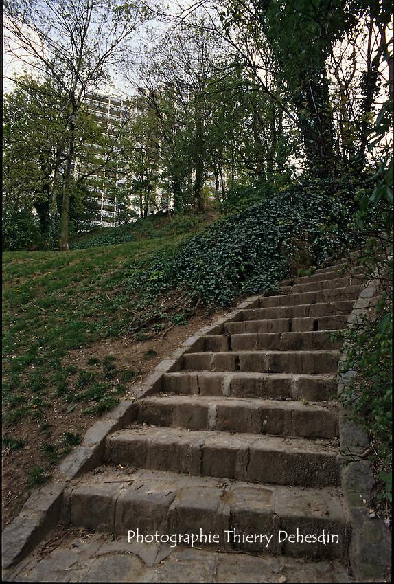 1989-1994; Issy Les Moulineaux; Quartier des Epinettes