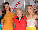 "Odette Yustman,Betty White and Kristen Bell  at The Touchstone Pictures' World Premiere of ""You Again"" held at The El Capitan Theatre in Hollywood, California on September 22,2010                                                                               © 2010 Hollywood Press Agency"