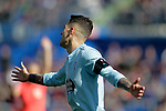 Celta de Vigo's Hugo Mallo dejected  during La Liga match. February 09,2019. (ALTERPHOTOS/Alconada)