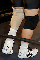 Shin Ohdama. He has practiced wrestling, judo and karate since high school. His left leg was amputated due to diabetes.