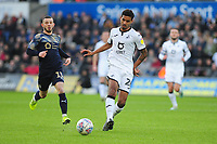 Kyle Naughton of Swansea City in action during the Sky Bet Championship match between Swansea City and Barnsley at the Liberty Stadium in Swansea, Wales, UK. Sunday 29 December 2019