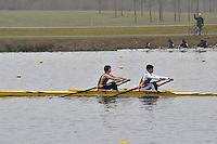 031 GuildfordRC MasA.1x..Marlow Regatta Committee Thames Valley Trial Head. 1900m at Dorney Lake/Eton College Rowing Centre, Dorney, Buckinghamshire. Sunday 29 January 2012. Run over three divisions.