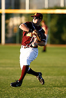 Matt Newman - 2009 Arizona State Sun Devils.Photo by:  Bill Mitchell/Four Seam Images