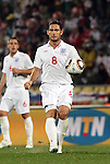 12 JUN 2010:  Frank Lampard (ENG)(8) pursues a loose ball.  The England National Team played the United States National Team played to a 1-1 tie at Royal Bafokeng Stadium in Rustenburg, South Africa in a 2010 FIFA World Cup Group C match.