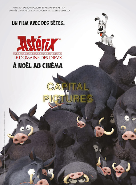 POSTER ART<br /> in Asterix: Le domaine des dieux (2014) <br /> *Filmstill - Editorial Use Only*<br /> CAP/NFS<br /> Image supplied by Capital Pictures