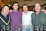 6309-6310.Enjoying the craic on New Year's Eve in Kate Browne's Pub, Ardfert were l/r Karl Mee, Tom O'Donnell, Sean Lewis and Frank Fitzgerald.