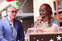 Pitbull, Lil Jon<br /> at the Pitbull Star on the Hollywood Walk of Fame Ceremony, Hollywood, CA 07-15-16<br /> David Edwards/DailyCeleb.com 818-249-4998