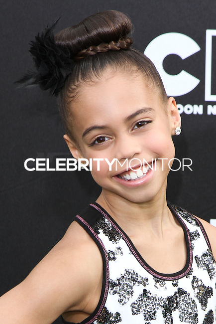SANTA MONICA, CA, USA - FEBRUARY 15: Asia Monet Ray at the 4th Annual Cartoon Network Hall Of Game Awards held at Barker Hangar on February 15, 2014 in Santa Monica, California, United States. (Photo by David Acosta/Celebrity Monitor)