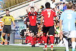 14 November 2010: Maryland's Taylor Kemp (2). The University of Maryland Terrapins defeated the University of North Carolina Tar Heels 1-0 at WakeMed Soccer Park in Cary, North Carolina in the ACC Men's Soccer Tournament Championship game.