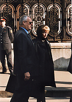 Anatoly Sobchak, Ludmila Narusova (father and mother Ksenia Sobchak)<br /> Russian TV anchor, journalist, socialite and actress and celebrity presidential candidate running against Putin.<br /> **FILE PHOTO FROM 1998**<br /> ** NOT FOR SALE IN RUSSIA or FSU **<br /> CAP/PER<br /> &copy;PER/CapitalPictures