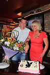 Ilze Upenieks and Son Ronald upenieks at her 40th Birthday party in Sarsfields.<br /> Picture:  Fran Caffrey / www.newsfile.ie