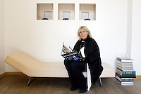 L'imprenditrice Alda Fendi ritratta a Roma, 29 aprile 2009..Italian enterpreneur Alda Fendi portrayed in Rome, 29 april 2009..UPDATE IMAGES PRESS/Riccardo De Luca