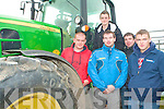 TRACTOR BOYS: Enjoying the tractors at the Kerry Harvest Fair at Tralee Mart on Sunday l-r: Eugene O'Donoghue, Leith West, Padraig Griffin, Knocknagoshel, Donnie Enright, Moyvane, Jonathan Burke, Faha and Eugene Sweeney, Moyvane.