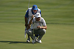 Padraig Harrington on the 17th hole in the opening foursomes at the 37th Ryder Cup at Valhalla Golf Club, Louisville, Kentucky, USA - 19th September 2008 (Photo by Manus O'Reilly/GOLFFILE)