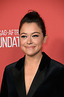 Tatiana Maslany at the SAG-AFTRA Foundation's Patron of the Artists Awards at the Wallis Annenberg Center for the Performing Arts. Beverly Hills, USA 09 November  2017<br /> Picture: Paul Smith/Featureflash/SilverHub 0208 004 5359 sales@silverhubmedia.com