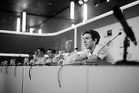 Simon Yates (GBR/Orica-GreenEDGE) at the 2015 pre-Tour de France press conference