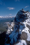 Gifford Pinchot, Indian Heaven Wilderness Area, Fire Lookout, winter, Washington State, Pacific Northwest, hiker,