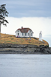 Lighthouse On Puget Sound
