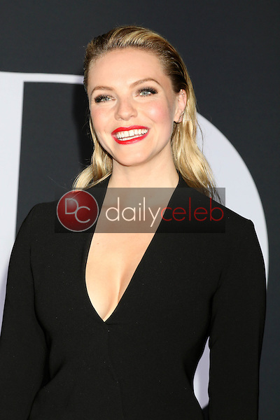 "Eloise Mumford<br /> at the ""Fifty Shades Darker"" World Premiere, The Theater at Ace Hotel, Los Angeles, CA 02-02-17<br /> David Edwards/DailyCeleb.com 818-249-4998"