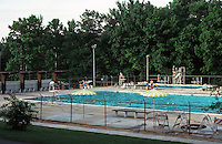 Greenbelt:  Municipal Swimming Pool.  Photo '85.
