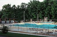 Greenbelt:  Municipal Swimming Pool.  Photo '85.