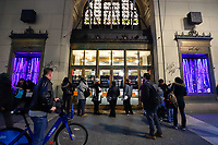 NOVA YORK, 02.01.2019 - LORD-TAYLOR - Vista da loja de departamento Lord e Taylor  da quinta avenida que fechou as portas apos 104 anos de atividades (Foto: Vanessa Carvalho/Brazil Photo Press)