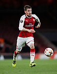 Arsenal's Mathieu Debuchy in action during the Europa League Group H match at The Emirates Stadium, London. Picture date: December 7th 2017. Picture credit should read: David Klein/Sportimage