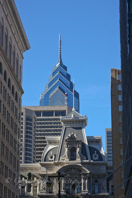 City buildings downtown Philadelphia, PA